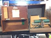 Sale 8659 - Lot 2215 - Microscope Case and Projector