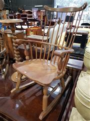 Sale 8740 - Lot 1327 - Timber Rocking Chair