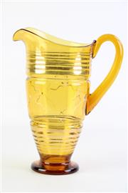 Sale 8860V - Lot 88 - Possibly 1950s Glass Jug H: 13cm