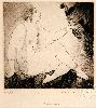 Sale 3847 - Lot 12 - NORMAN LINDSAY (1879 - 1969) - Bargains 11.5 x 12 cm