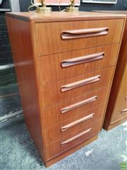 Sale 8566 - Lot 1039 - G-Plan Teak Tall Boy Chest