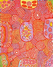 Sale 8611A - Lot 5011 - Maisie Campbell Napaltjarri (1958 - ) - Women's Ceremony 97 x 76cm