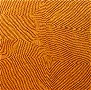 Sale 8647 - Lot 540 - Warlimpirrnga Tjapaltjarri (c1958 - ) - My Grandfathers Country, 2010 122 x 122.5cm (stretched and ready to hang)