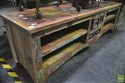 Sale 8323 - Lot 1080 - Shabby Chic Entertainment Unit