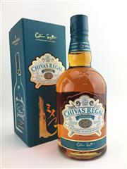 Sale 8439 - Lot 742 - 1x Chivas Regal Mizunara Blended Scotch Whisky - Japanese limited edition with oak coaster & booklet, 700ml in box