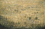 Sale 8583 - Lot 583 - Rodney Milgate (1934 - 2014) - Untitled (Landscape) 59.5 x 90cm