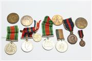 Sale 8670 - Lot 185 - Early Army Medals Including WWI