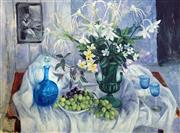 Sale 8849A - Lot 5009 - Margaret Olley (1923 - 2011) - Eucharist Lillies, 2004 91.5 x 109cm