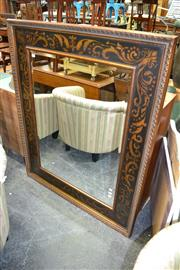 Sale 8115 - Lot 1461 - Large Gilt Framed Bevelled Edge Mirror