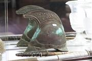 Sale 8160 - Lot 60 - Brass Dress Helmet