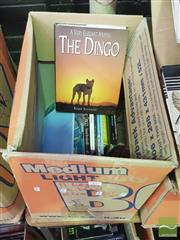 Sale 8900 - Lot 72 - Collection of Books on dingos incl. Thompson, C.K. Warrigal the Warrior, pub. Dymocks, 1948; Wright, S. The Way of the Dingo,...