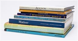 Sale 9170H - Lot 94 - A collection of reference books on art and interiors