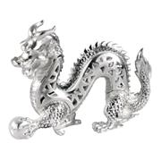 Sale 8000 - Lot 136 - A Christofle silver plated Chinese dragon figure, boxed.