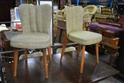 Sale 8087 - Lot 1093 - Set of 4 Retro Dining Chairs