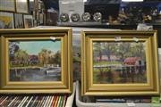 Sale 8250C - Lot 2036 - Artist Unknown, 2 South Coast Oil Paintings SLL