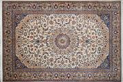 Sale 8276B - Lot 21 - Persian nain 363cm x 250cm RRP $8000