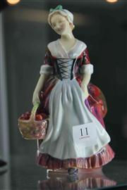 Sale 8032 - Lot 11 - Royal Doulton Figurine Prue HN 1996 signed FJH