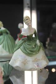 Sale 8261 - Lot 2 - Royal Doulton Figure Soiree