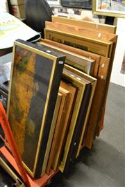 Sale 8453 - Lot 2048 - Collection of Decorative Prints after European Modern Masters, framed, various sizes