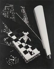 Sale 8520A - Lot 5002 - Max Dupain (1911 - 1992) - Chess and Orchid, 1980 50 x 39.5