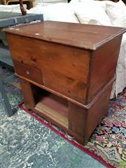 Sale 8593 - Lot 1080 - Vintage Cedar Desk