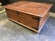 Sale 8979 - Lot 1044 - Timber Lift Top Coffee Table (H:45 W:110 D:80cm)