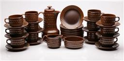 Sale 9078 - Lot 23 - Wedgwood Pennine Coffee Service for 12 Persons