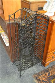 Sale 7981A - Lot 1081 - Metal Wine Rack