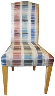 Sale 8258A - Lot 54 - Set of ten contemporary high back dining chairs, RRP $195 each