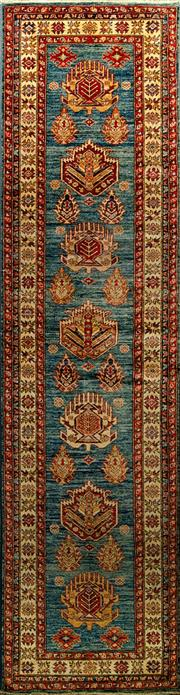 Sale 8439C - Lot 1 - Afghan Super Kazak 320cm x 84cm