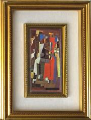 Sale 8485A - Lot 5007 - After Georges Braque (1882 - 1963) - Untitled 15 x 27cm