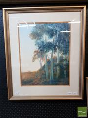 Sale 8491 - Lot 2045 - T Francis Johnson - Touch of Summers Light, gouache, 60.5 x 51cm, signed lower right