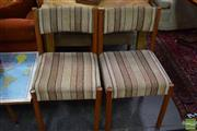 Sale 8532 - Lot 1380 - Set of 6 Vintage Dining Chairs