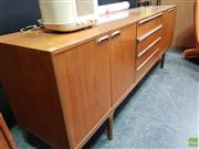 Sale 8585 - Lot 1006 - Quality McIntosh Teak Sideboard