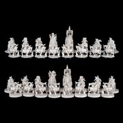 Sale 8000 - Lot 269 - An Indian ivory chess set.