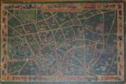 Sale 8320 - Lot 826 - Post war map of London distributed by Daily Telegraph 1951
