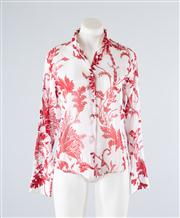 Sale 8685F - Lot 89 - A Gucci printed cotton shirt, size 42