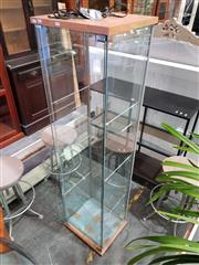 Sale 8782 - Lot 1751 - Slim Glass Display Case
