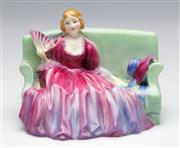 Sale 9086 - Lot 8 - A Royal Doulton Sweet and Twenty figural group (HN1589) potted by Doulton & Co (W12cm)
