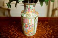 Sale 8392H - Lot 19 - A Chinese Famille Rose Baluster Vase, H 37cm