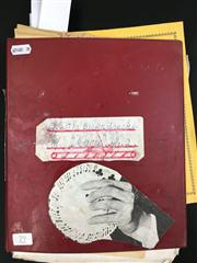 Sale 8539M - Lot 79 - 'Off the Beaten Track' by Keith Abson. 100 Magic Tricks, vol. 2 featuring clippings and handwritten notes