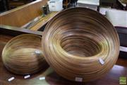 Sale 8542 - Lot 1055 - Pair of Organic Stands