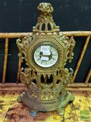 Sale 8545 - Lot 1012 - French Style Mantle Clock