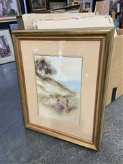 Sale 8998 - Lot 2073 - Anita Newman, When Winter Changes to Spring, Oil, SLR, 50x34.5cm