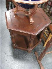 Sale 7969A - Lot 1074 - Tiered Hexagonal Occasional Table
