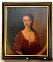 Sale 8015A - Lot 89 - ARTIST UNKNOWN - Portrait of Ruth Gibton