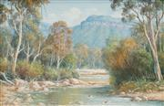 Sale 8497A - Lot 5060 - Laszlo Lukacs (1945 - ) (2 works) - Megalong Creek; Swan River 19 x 29.5cm; 29.5 x 19cm
