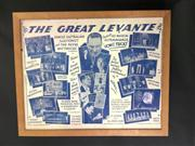 Sale 8539M - Lot 3A - 'The Great Levante - Famous Australian Illusionist and the Revue Mysterious presents His Magical Extravaganza'. Original poster in f.