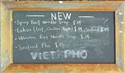 Sale 8657 - Lot 1065 - Rustic Timber Framed Blackboard