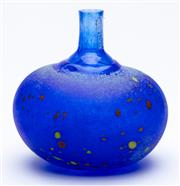 Sale 8926H - Lot 73 - A Kosta Boda, Chicko bottle of diminutive size in box, Height 10cm, inscription to base